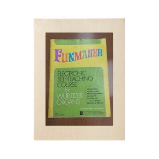 Poster del órgano del vintage de Funmaker