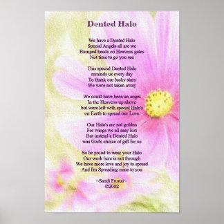 Poster del poema del superviviente de la