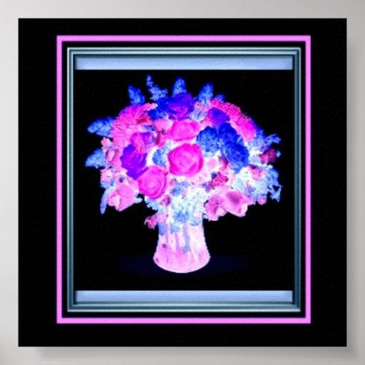 Poster del ramo de las flores