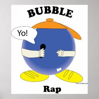 Poster del rap de la burbuja