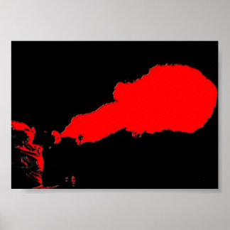 poster del respiradero del fuego