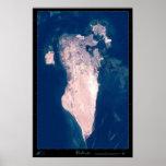 Poster del satélite de Bahrein