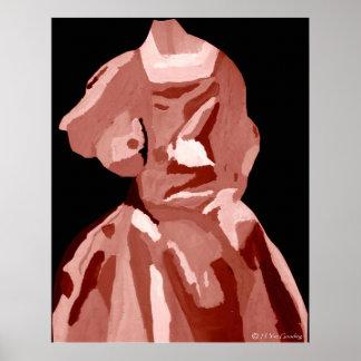 """Poster del vestido de A. Boleyn Neutral"" - person"