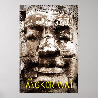 Poster del viaje de Angkor Wat Póster