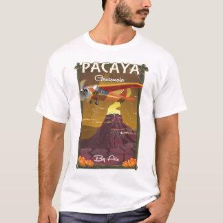 Poster del viaje de Guatemala del volcán de Pacaya Camiseta