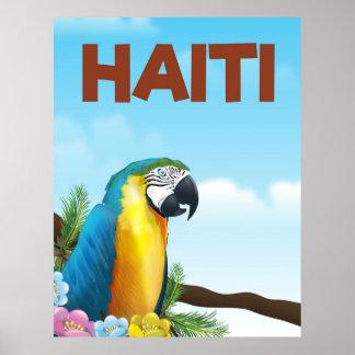 Poster del viaje de Haití Póster