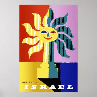 Poster del viaje de Israel Póster
