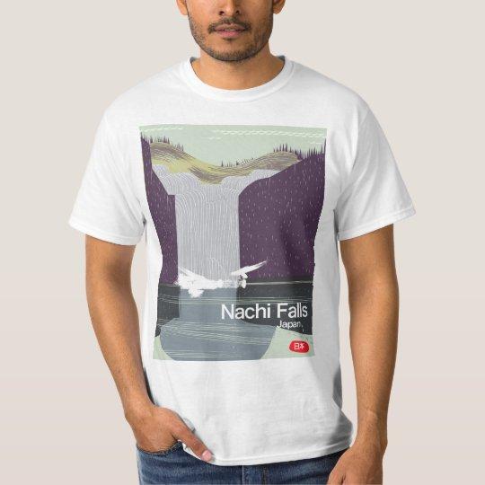 Poster del viaje del estilo del vintage de Japón Camiseta