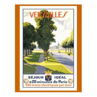 Poster del viaje del francés del vintage de postal