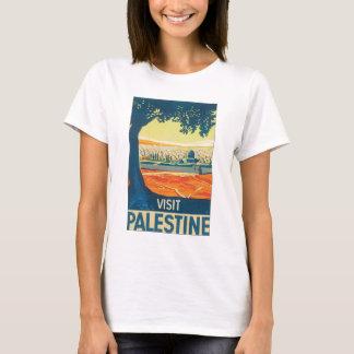Poster del viaje del vintage de Palestina de la Camiseta