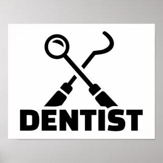 Póster Dentista