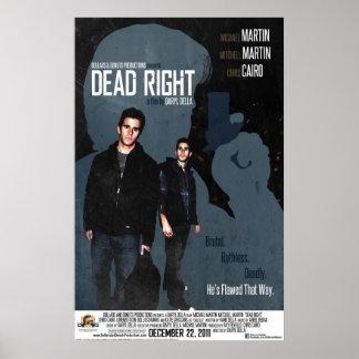 Poster derecho muerto