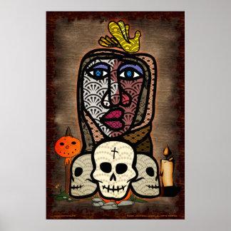 Póster Día del altar muerto