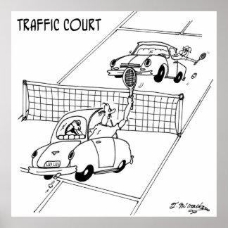 Póster Dibujo animado 5216 del tenis