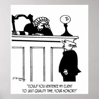 Póster Dibujo animado 5298 del abogado