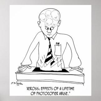 Póster Dibujo animado 8901 de la copiadora