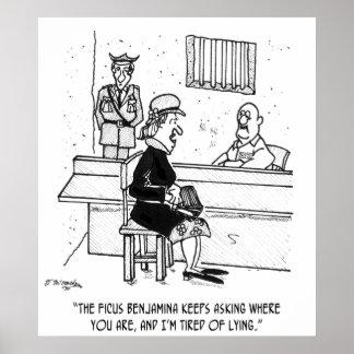 Póster Dibujo animado 9493 de la prisión