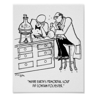 Póster Dibujo animado primordial 9477 de la sopa