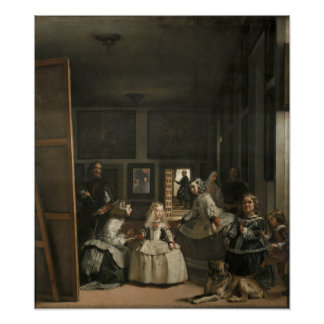 Póster Diego Velázquez Las Meninas