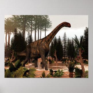 Póster Dinosaurio de Jobaria - 3D rinden