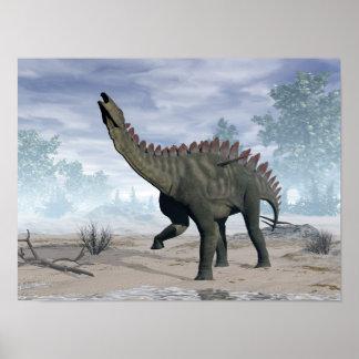 Póster Dinosaurio de Miragaia - 3D rinden