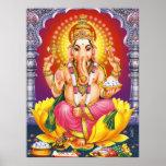 Póster Dios Ganesha