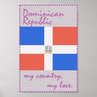 Póster Dominican_Republic mi país mi amor