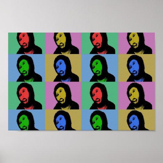 Póster Ecce homo pop art