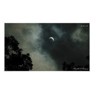 Póster eclipse solar 2017