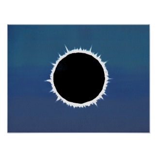 Póster Eclipse solar total - poster