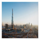 Póster Edificios a lo largo de jeque Zayed Road, Dubai 2