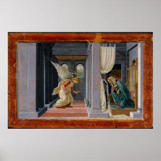 Póster El anuncio, circa 1485