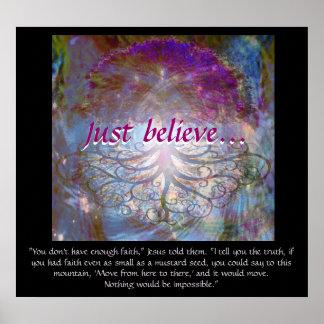 Póster El árbol de la vida apenas cree