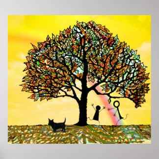 Póster El árbol de la vida renueva