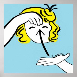 Póster El ASL aprende
