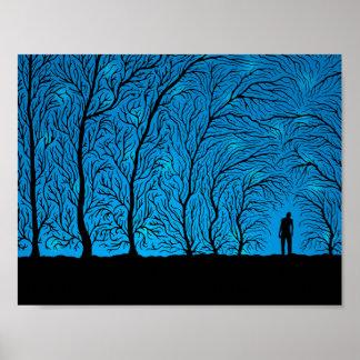 Póster El bosque susurra (poster del color 2)