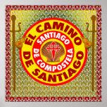 Póster EL Camino De Santiago