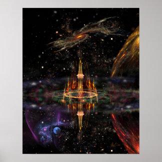 Póster El castillo del mago (16x20)