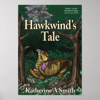 Póster El cuento de Hawkwind: Versión ilustrada