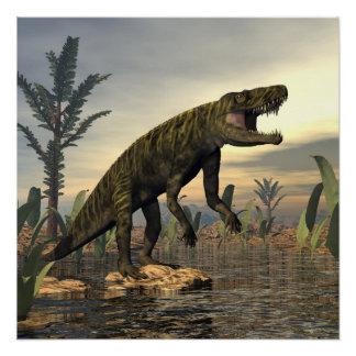 Póster El dinosaurio -3D de Batrachotomus rinde