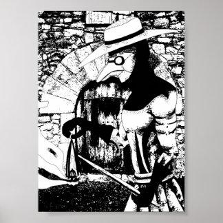 Póster El doctor Poster de la plaga