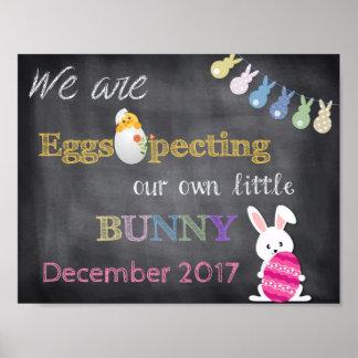 Póster El embarazo de Eggspecting Pascua revela la