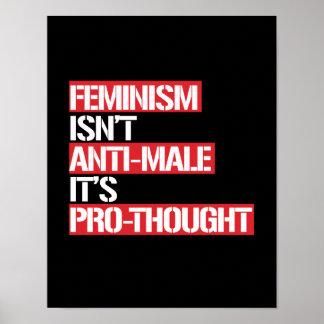 Póster El feminismo no es Anti-Varón que es