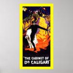 Póster El gabinete del Dr. Caligari