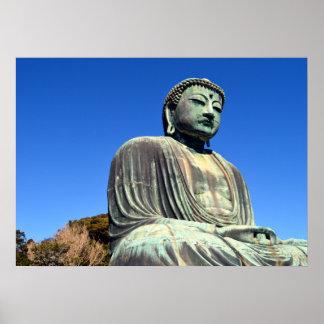 Póster El gran Buda: Kamakura, Japón