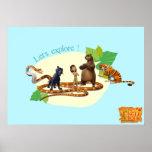 Póster El grupo del libro de la selva tiró 4 2