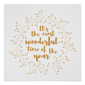 Póster El navidad enrruella el tiempo maravilloso - de
