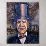 Póster El Obama - el paralelo de Lincoln