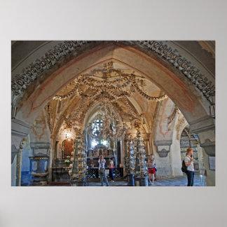 Póster El osario en Sedlec o la iglesia de todos los