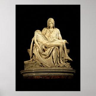 Póster El Pieta de Miguel Ángel